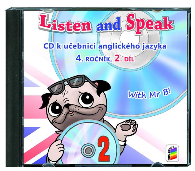Listen and Speak 4.roč/2. díl - CD Nová škola
