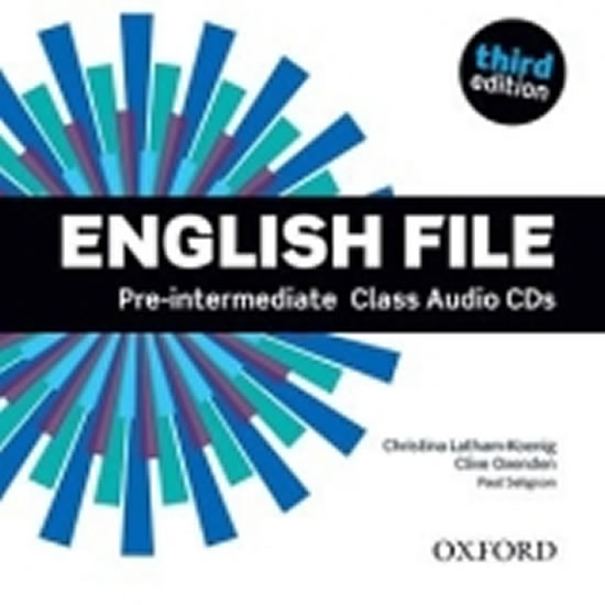English file 3.ed. pre-int class audio CD4