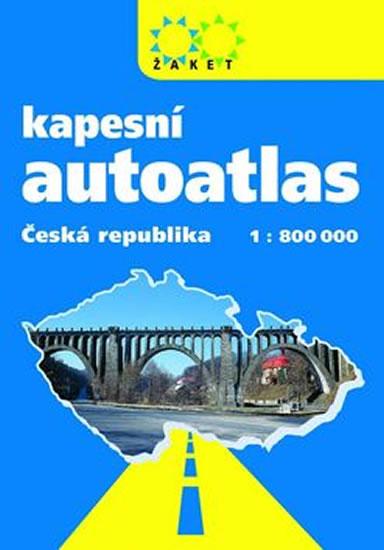 ČESKÁ REPUBLIKA 1:800 KAPESNÍ AUTOATLAS
