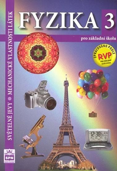 Fyzika 3 Světelné jevy učebnice SPN RVP