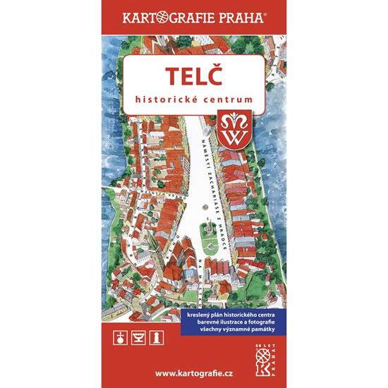 TELČ - MAPA HISTORICKÉ CENTRUM
