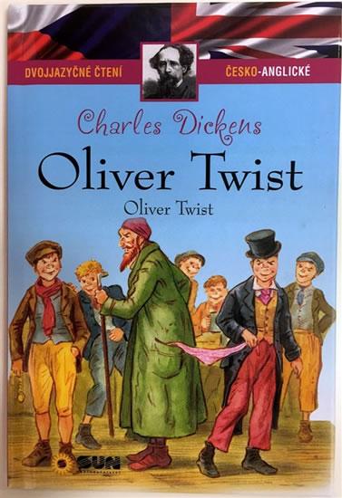 077-8 OLIVER TWIST DVOJJAZYČNÉ ČTENÍ ČESKO-ANGLICKÉ - DICKENS CHARLES