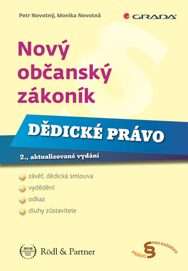 NOVÝ OBČ. ZÁK.-DĚDI.PRÁV-2.V.
