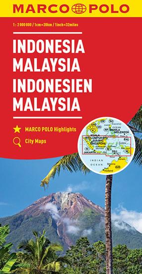 Indonesie,Malajsie/mapa 1:2M MD(ZoomSystem)