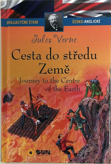 077-7 DVOJJAZYČNÉ ČTENÍ Č-A CESTA DO STŘEDU ZEMĚ - VERNE JULES
