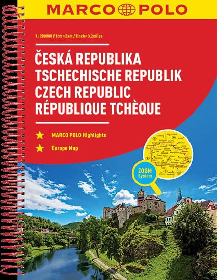 Česká Republika atlas-spirála 1:200T MD