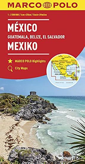 Mexiko, Guatemala, Belize, El Salvador