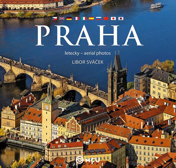 Praha letecky - střední/vícejazyčná
