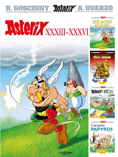 ASTERIX XXXIII-XXXVI