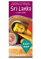 Sri Lanka easy map