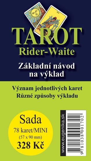 Tarot Rider-Waite - Základní návod na výklad + sada 36 karet