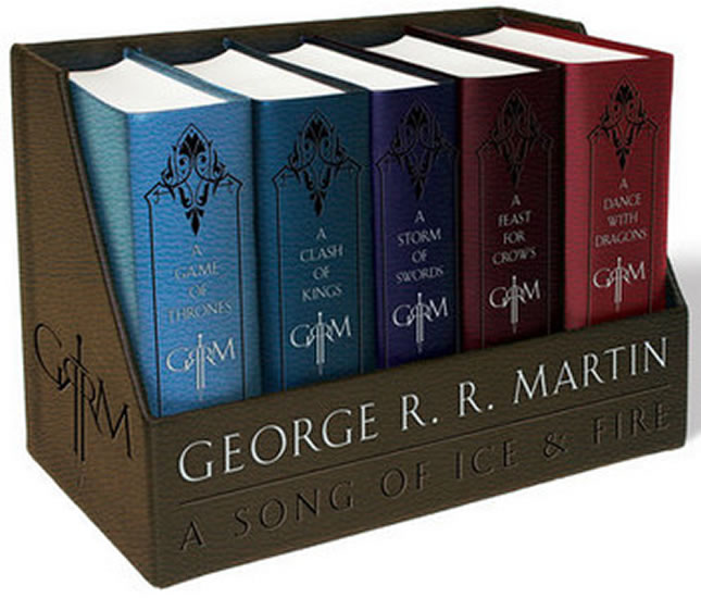 Song of Ice and Fire 1-5  (Leather Cloth ed.)