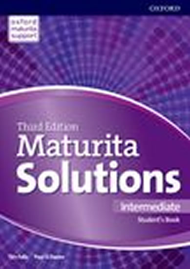 MATURITA SOLUTIONS INTERMEDIATE SB 3.EDICE
