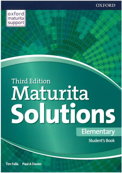 Maturita Solutions 3rd Edition Elementary Student's Book CZ