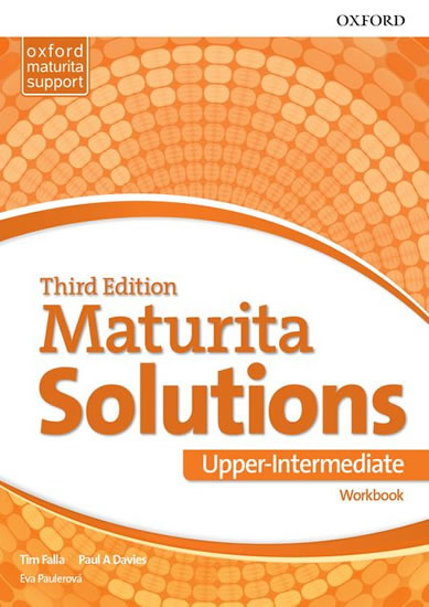 MATURITA SOLUTIONS UPPER INTEMEDIATE WB 3.EDICE