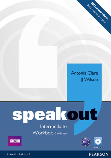 Speakout Inter WB+key+CD
