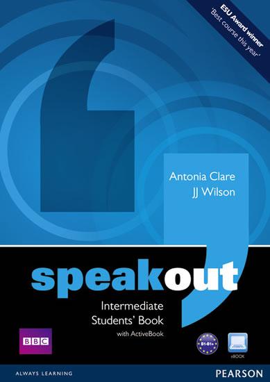 Speakout Inter SB+active book