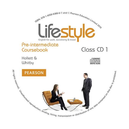 Lifestyle Pre-Inter class CD