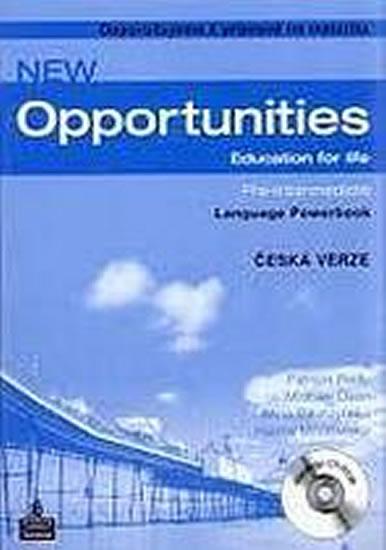 New Opportunities Pre-Inter LPB+CD-ROM CZ