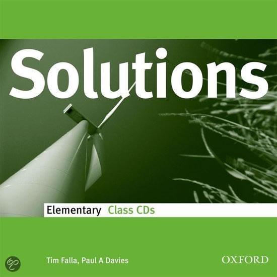 MATURITA SOLUTIONS ELEMENTARY CD/OXFORD