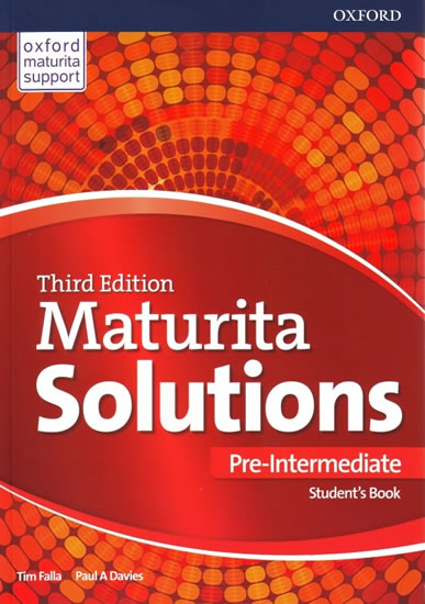MATURITA SOLUTIONS THIRD EDITION PRE INTERMEDIATE SB