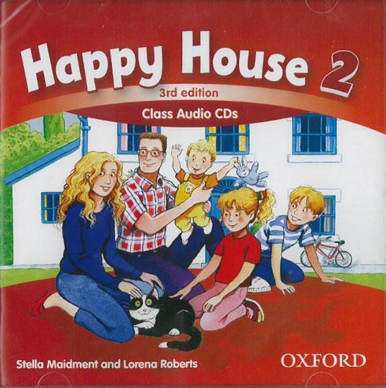 Happy House 2 class audio  CD 3.vydání