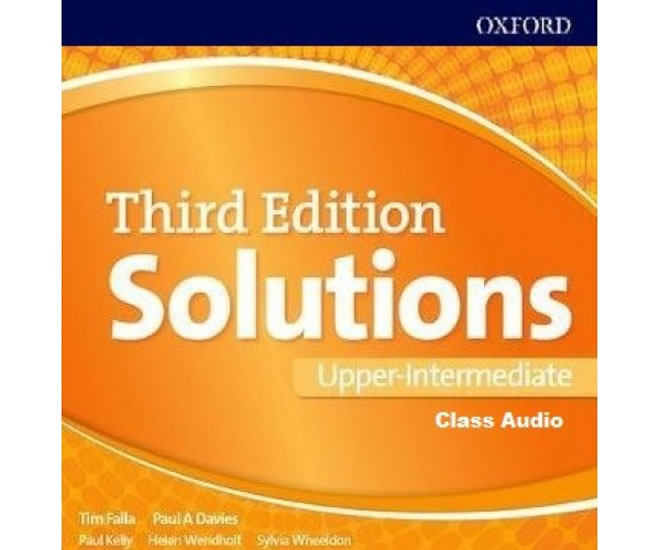 Maturita Solutions 3rd Edition Upper Intermediate Class Audio CDs /3/