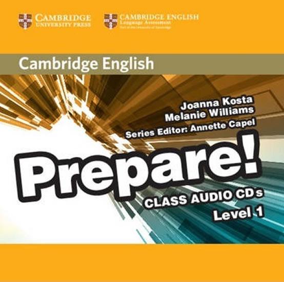 CD Prepare! 1: Class CDs (2)