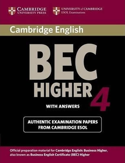 Camb BEC 4 Higher SB with answers