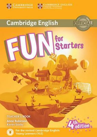 Fun for starters r Teachers Book with Downlodable audio 4.ed.