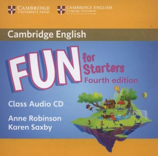 Fun for Starters  Class audio CD 4.ed.