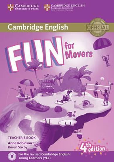 Fun for Movers Teachers Book with Downlodable audio4.ed.