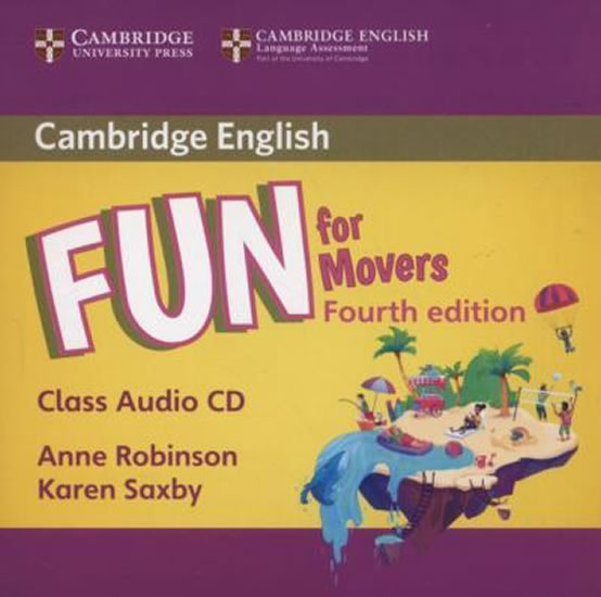 Fun for Movers Class audio CD 4.ed.