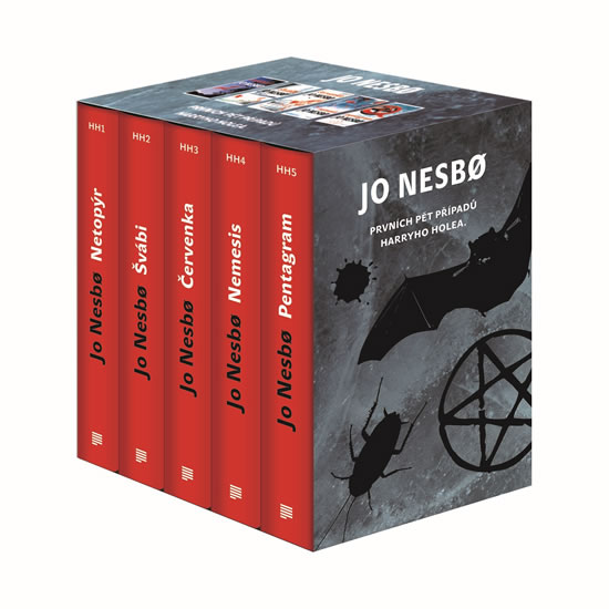 Jo Nesbo - Box 1 - 5