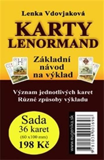 KARTY LENORMAND ZÁKLADNÍ NÁVOD NA VÝKLAD