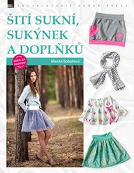 597385b195d8 Kniha Šití sukní