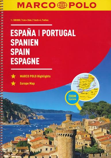 Španělsko/Portugalsko / atlas-spirála 1:300T MD