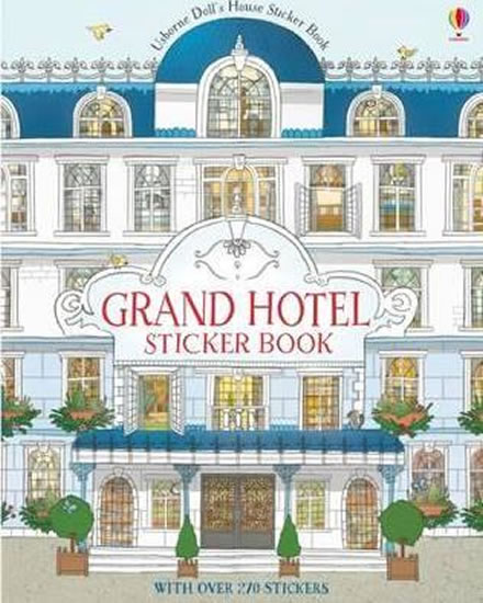 Grand Hotel Sticker Book