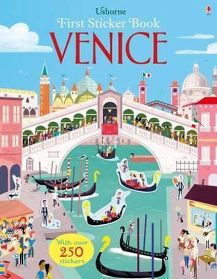 First Sticker Book Venice