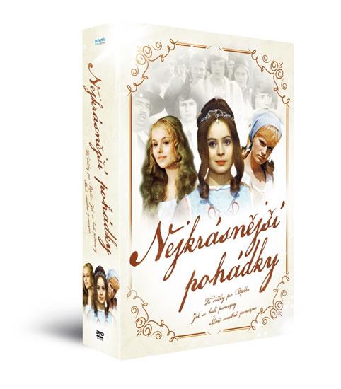 Nejkrásnější pohádky  - 3 DVD