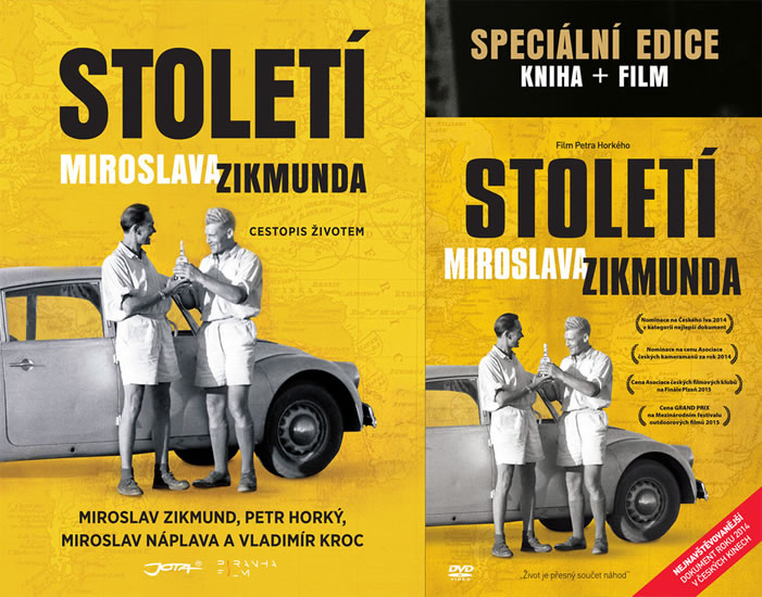 Století Miroslava Zikmunda - Dárkové provedení s DVD