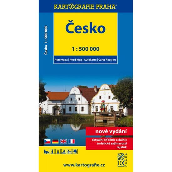 AUTOMAPA ČESKO 1:500 000