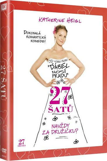 7354f7fc2c4e DVD 27 šatů (edice Valentýn) - DVD