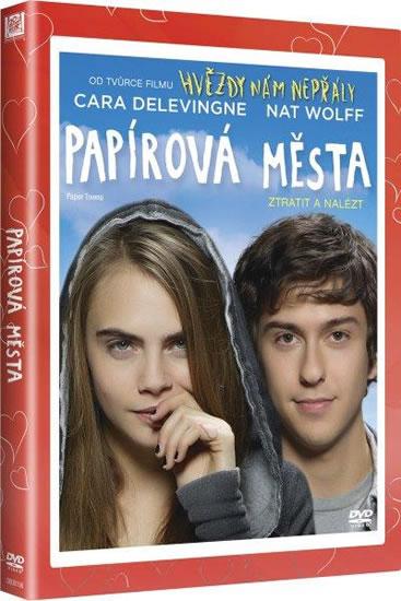 Papírová města (edice Valentýn) DVD
