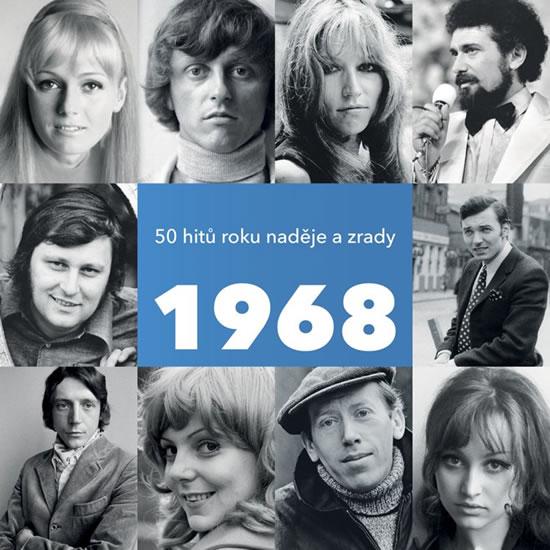 1968 - 50 hitů roku naděje a zrady - 2 CD - Various