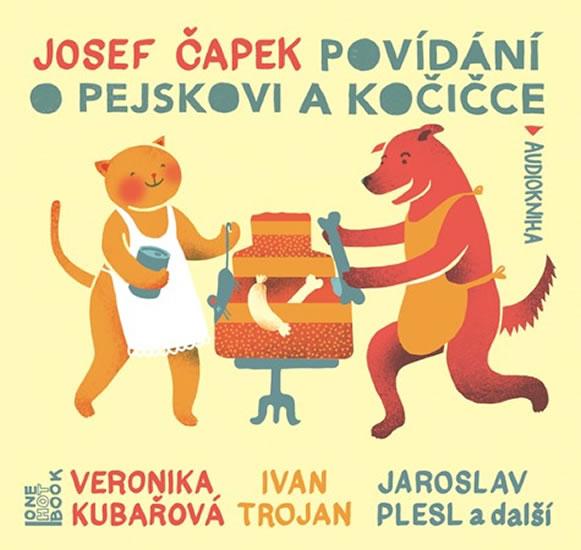 POVÍDÁNÍ O PEJSKOVI A KOČIČCE CDMP3 (AUDIO, HERCI Z DEJV.D.)