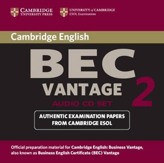 Camb BEC Vantage 2 Audio CD
