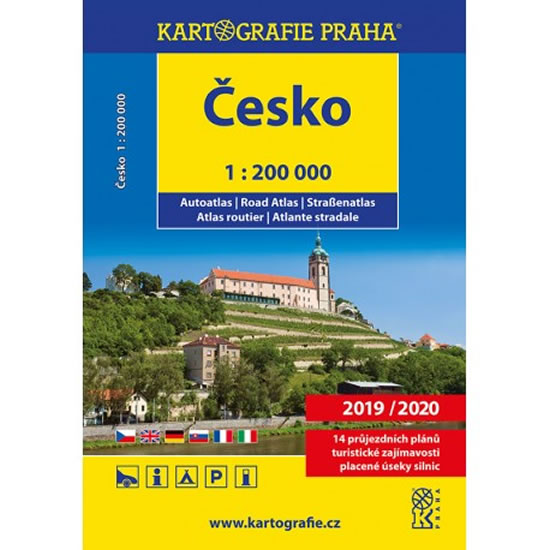 ČESKO AUTOATLAS 1:200 2018/2019