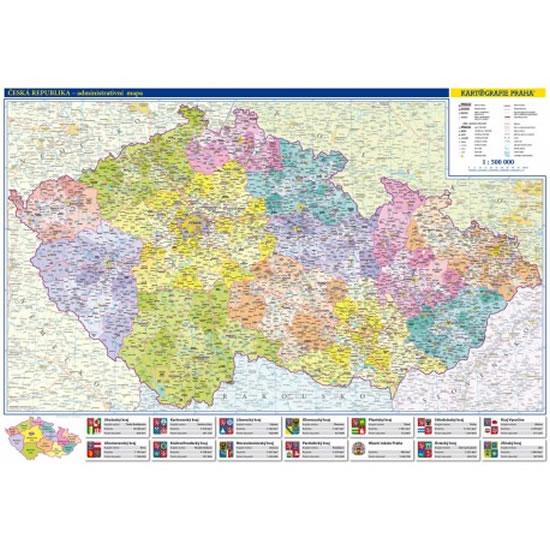 ČR/ADMINISTRATIVNÍ MAPA 1:500T