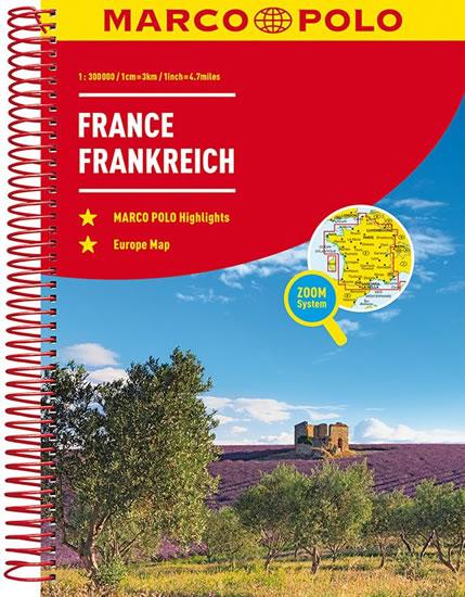 Francie / atlas-spirála 1:300T MD